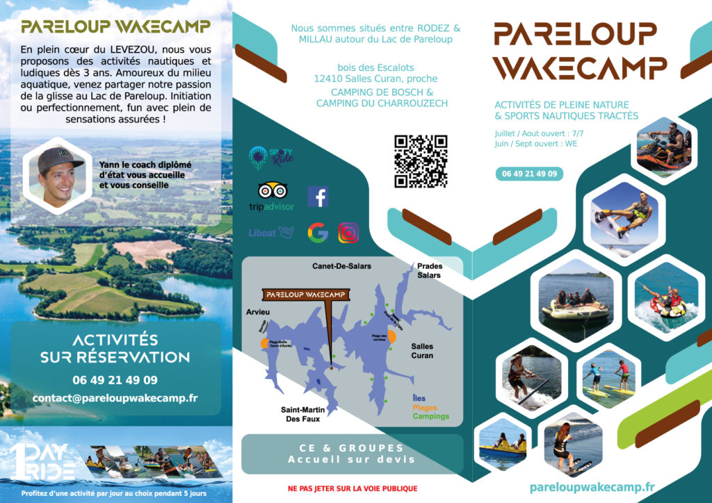 flyer recto pareloup wakecamp aveyron levezou